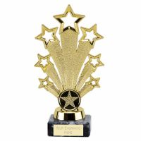Star Fanfare Gold 6.75 Inch (17cm) - New 2019
