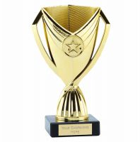 Cape Cup Trophy Award Gold 6.75 Inch (17cm) - New 2019