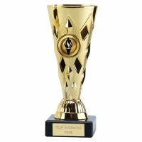 Diamond Cup Trophy Award Gold 6 Inch (15cm) - New 2019