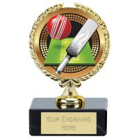 Gold Cricket Award 3.5 Inch (9cm) - New 2019