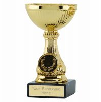 Lake Gold Cup Trophy Award 5 Inch (12.5cm) - New 2019