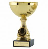 Lake Gold Cup Trophy Award 5.25 Inch (13.5cm) - New 2019