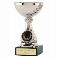 Lake Silver Cup Trophy Award 5 Inch (12.5cm) - New 2019