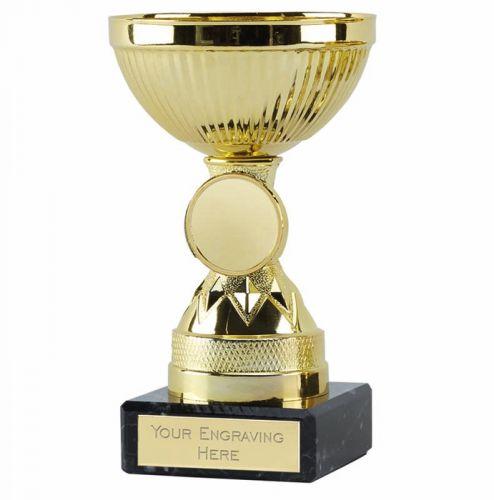 Copenhagen Gold Cup Trophy Award 4.75 Inch (12cm) - New 2019