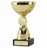 Copenhagen Gold Cup Trophy Award 5.5 Inch (14cm) - New 2019