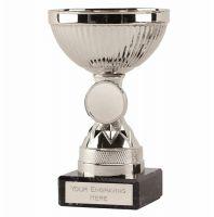 Copenhagen Silver Cup Trophy Award 5 Inch (12.5cm) - New 2019