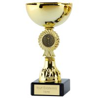 Rosette Diamond Cup Trophy Award 6.5 Inch (16.5cm) - New 2019