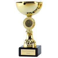 Rosette Diamond Cup Trophy Award 7 1 8 Inch (18cm) - New 2019