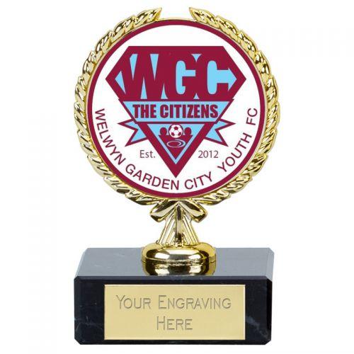 Bespoke Football Award 3.5 Inch (9cm) - New 2019