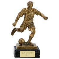 R005a Football Award On Marble 7.25 Inch (18.5cm) - New 2019