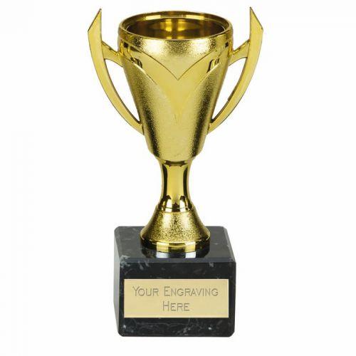 Chevron Gold Presentation Cup Trophy Award 6.25 Inch (16cm) : New 2020