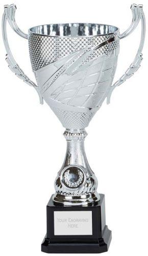 Canberra Presentation Cup Trophy Award Silver 10.75 Inch (27cm) : New 2020