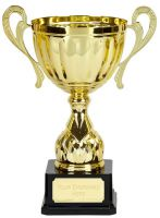 Link Track Trophy Award Gold Presentation Cup Trophy Award 13 7/8 Inch (34.5cm) : New 2020