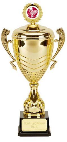 Link Prestige Gold Presentation Cup Trophy Award 21 Inch (53cm) : New 2020