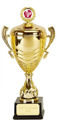 Link Prestige Gold Presentation Cup Trophy Award 22 3/8 Inch (56.5cm) : New 2020
