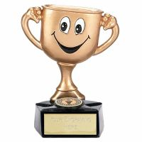 Gold Cup Trophy Award Man3 Aggt 3.75 Inch