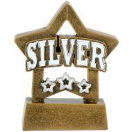 Mini Star Silver - Agst - 3 1 8 Inch (8cm)- New 2018