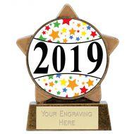 Mini Star Centre Holder - 2019 3.25 Inch (8cm) : New 2019