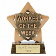 Mini Star Worker Of The Week 3.25 Inch (8cm) - New 2019