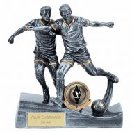 Duo Football Silver 5.75 Inch (14.5cm) - New 2019
