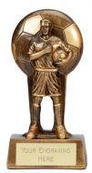 Soul Football Trophy Award Male 7.25 Inch (18.5cm) : New 2020