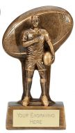 Soul Rugby Trophy Award 7.25 Inch (18.5cm) : New 2020