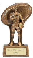 Soul Rugby Trophy Award 7.25 Inch (18.5cm) : New 2020
