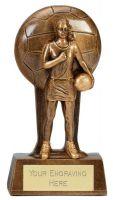 Soul Netball Trophy Award 6.25 Inch (16cm) : New 2020