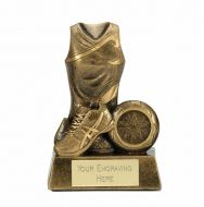 Legend Netball Trophy Award 5 Inch (12.5cm) : New 2020