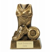 Legend Netball Trophy Award 7 Inch (17.5cm) : New 2020