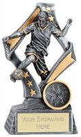 Flag Football Trophy Award 5 1/8 Inch (13cm) : New 2020