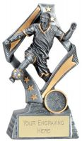 Flag Football Trophy Award 6.75 Inch (17cm) : New 2020