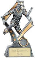Flag Football Trophy Award 7.5 Inch (19cm) : New 2020