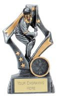 Flag Cricket Trophy Award Batsman 5 1/8 Inch (13cm) : New 2020