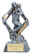 Flag Cricket Trophy Award Bowler 6.75 Inch (17cm) : New 2020