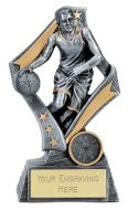 Flag Basketball Trophy Award 6.75 Inch (17cm) : New 2020