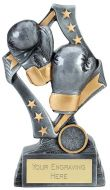 Flag Boxing Trophy Award 6.75 Inch (17cm) : New 2020
