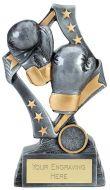 Flag Boxing Trophy Award 7.5 Inch (19cm) : New 2020