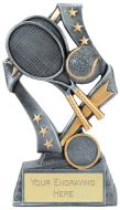 Flag Tennis Trophy Award 6.75 Inch (17cm) : New 2020