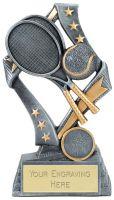 Flag Tennis Trophy Award 6.75 Inch (17cm) : New 2020