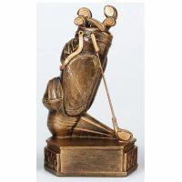 Hexagon Golf Trophy Award Bag 6.75 Inch (17cm) : New 2020