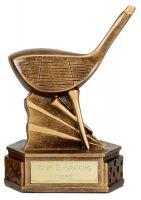 Hexagon Golf Trophy Award Driver 6 Inch (15cm) : New 2020