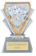 Drama Trophy Award Mini Presentation Cup Trophy Award 3.3/8 Inch (8.5cm) : New 2020