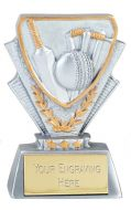 Cricket Trophy Award Mini Presentation Cup Trophy Award 3 3/8 Inch (8.5cm) : New 2020