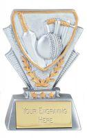 Cricket Trophy Award Mini Presentation Cup Trophy Award 3 3/8 Inch (8.5cm) : New 2020
