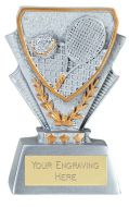 Tennis Trophy Award Mini Presentation Cup Trophy Award 3 3/8 Inch (8.5cm) : New 2020