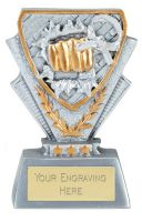 Martial Arts Trophy Award Mini Presentation Cup Trophy Award 3 3/8 Inch (8.5cm) : New 2020