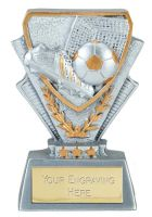 Football Trophy Award Mini Presentation Cup Trophy Award 3 3/8 Inch (8.5cm) : New 2020