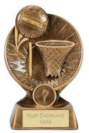 Horizon Netball Trophy Award 5 1/8 Inch (13cm) : New 2020