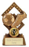 Cube Football Trophy Award 5.25 Inch (13.5cm) : New 2020